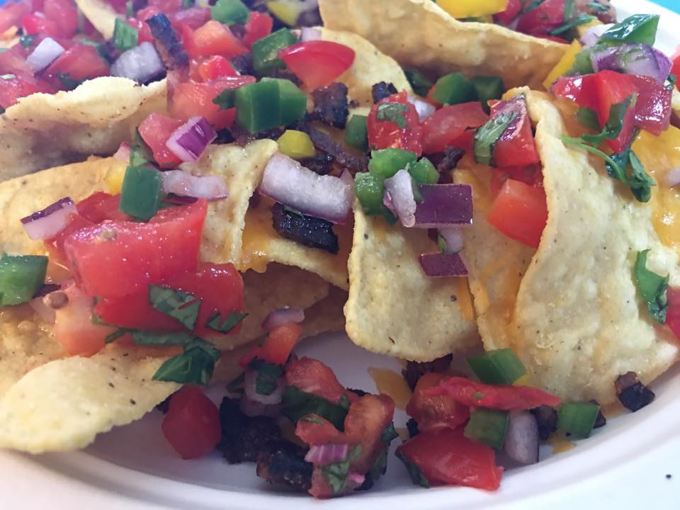 Pico de Gallo with Tortilla Chips.